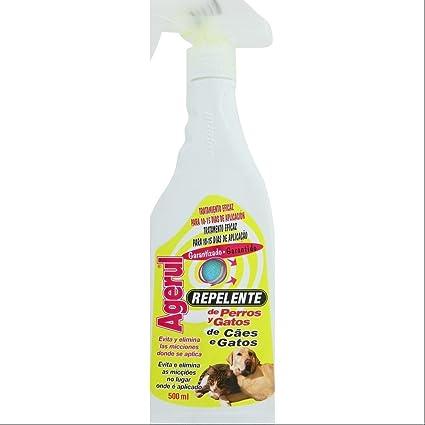 Repelente De Perros Y Gatos Botella Con Pulverizador 500 Ml.