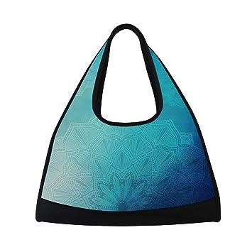Amazon.com: Montoj - Bolsas para gimnasio, color azul ...