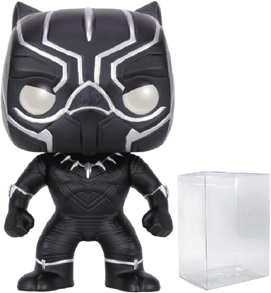 Marvel Civil War Captain America//Black Panther Unmasked Nr.138 Exclus Funko Pop