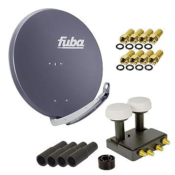 Fuba 4 Teilnehmer Astra Hotbird Digital Sat Anlage Daa Amazon De