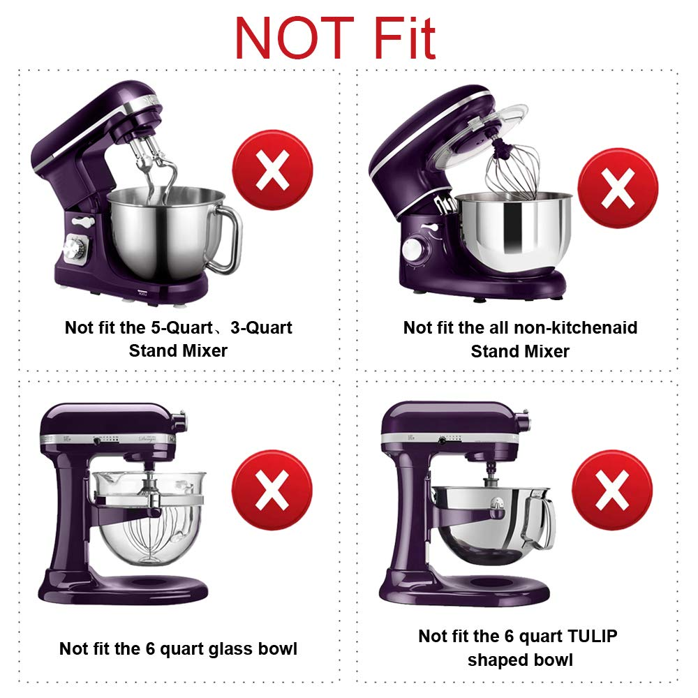 Details about Flex Edge Beater for KitchenAid Mixer Attachment 6-Quart  Bowl-lift Stand Mixer