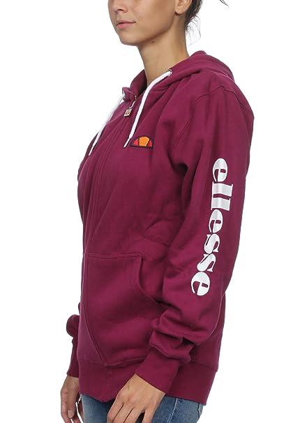 695b671e2a2b3 ellesse - Sweat-Shirt - Femme Violet Violett  Amazon.fr  Vêtements et  accessoires