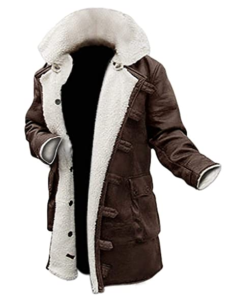 Amazon.com: Bane Coat Tom Hardy Halloween Dark Knight Rises ...