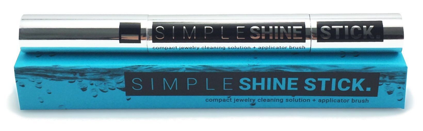 NEW Simple Shine Stick | Compact Diamond Cleaning Brush and Jewelry Cleaner Solution All-In-One by Simple Shine (Image #3)