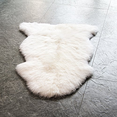 Waysofttm 100 Genuine Sheepskin Rug Single Pelt Natural