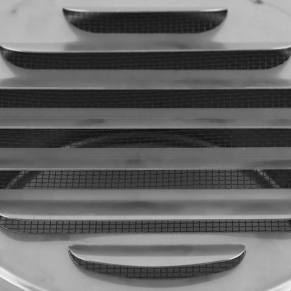 Fdit Grille de Ventilation Robuste Extraction Couverture Ronde r/églable pour Grille de Ventilation de lair Diam/ètre 100/mm