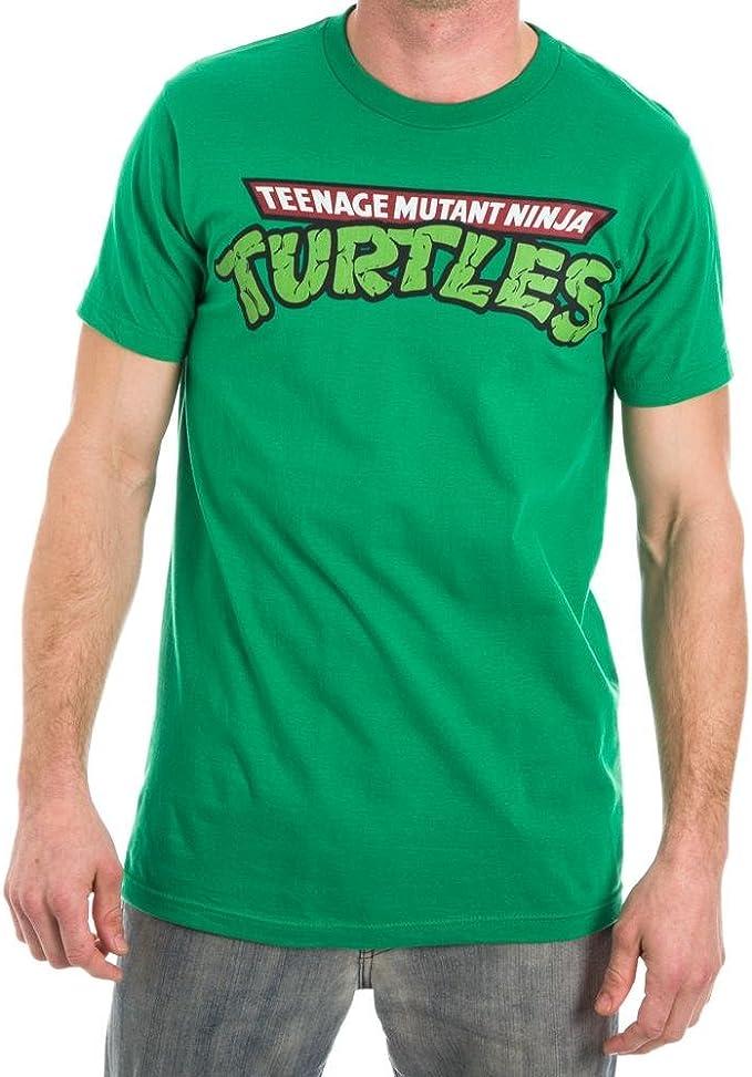 Amazon.com: Teenage Mutant Ninja Turtles TMNT Logo Mens ...