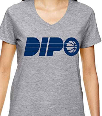 on sale 8aad6 7cd30 PROSPECT SHIRTS Grey Indiana Oladipo Dipo Ladies V-Neck T ...