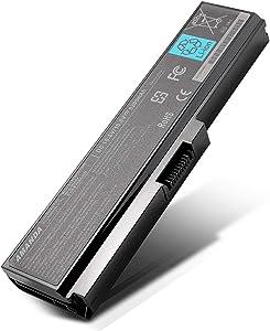Amanda PA3817U-1BRS Battery 10.8V 5200mAh Replacement for Toshiba Satellite C655 L600 L675 L700 L750 L755 M640 M645 P745 P775 Seris Laptop PA3816U-1BRS PA3817U-1BAS PA3819U-1BRS PABAS228 6-Cell