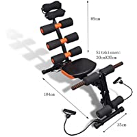 IBIZA Six Pack Abs Exerciser Machine with 20 Different Modes for Exercise and Fitness Machine for Body