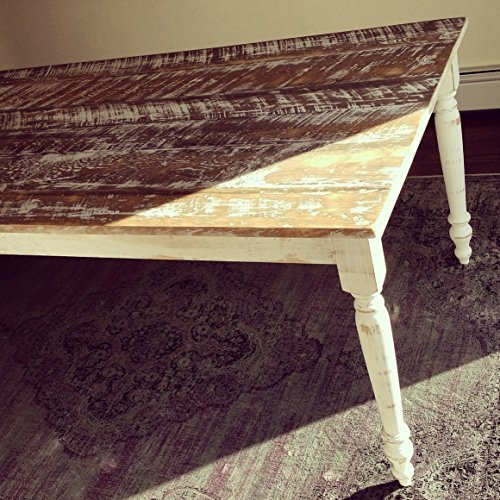Distressed Vintage Style Farmhouse Table