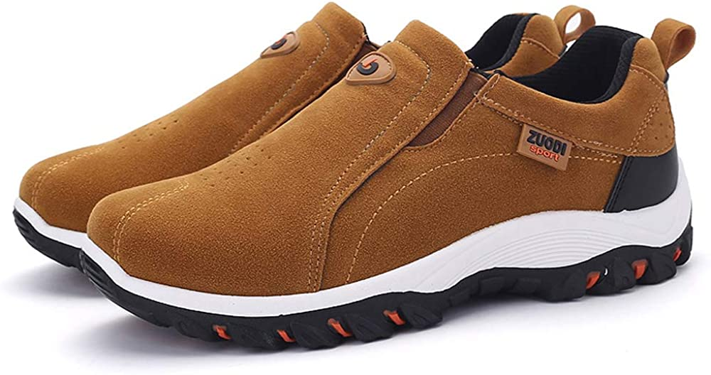 woodvoice Mens Loafers Jungle Moccasins Breathable Light Soft Slip On Casual Walking Shoes Size 39-48