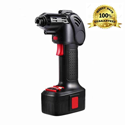 150 Psi Portable Cordless Power Inflator Hand Held Air Compressor Electric Inflator with LED Digital Display