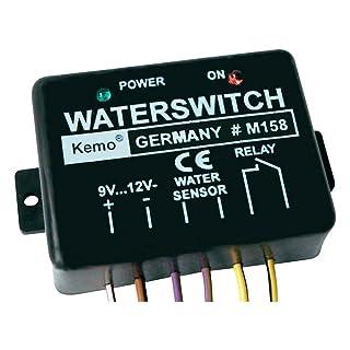 Kemo Detector de agua 9–12V DC M158