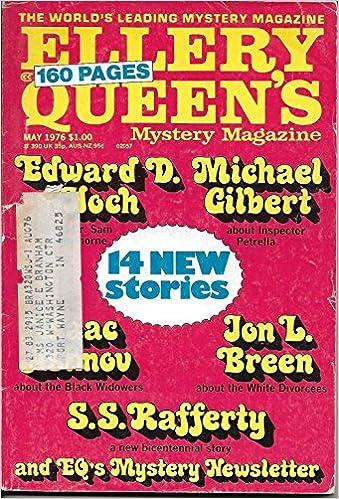 Ellery Queens Mystery Magazine May 1976 S S Rafferty Edward D