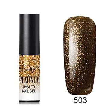 Amazon.com : Clearance Girls Platinum Nail Gel Polish, Iuhan 6ML Shiny 3D Chameleon Cat Eye Magnetic Gel Gradient Starry Off Nail UV Polish (C) : Beauty
