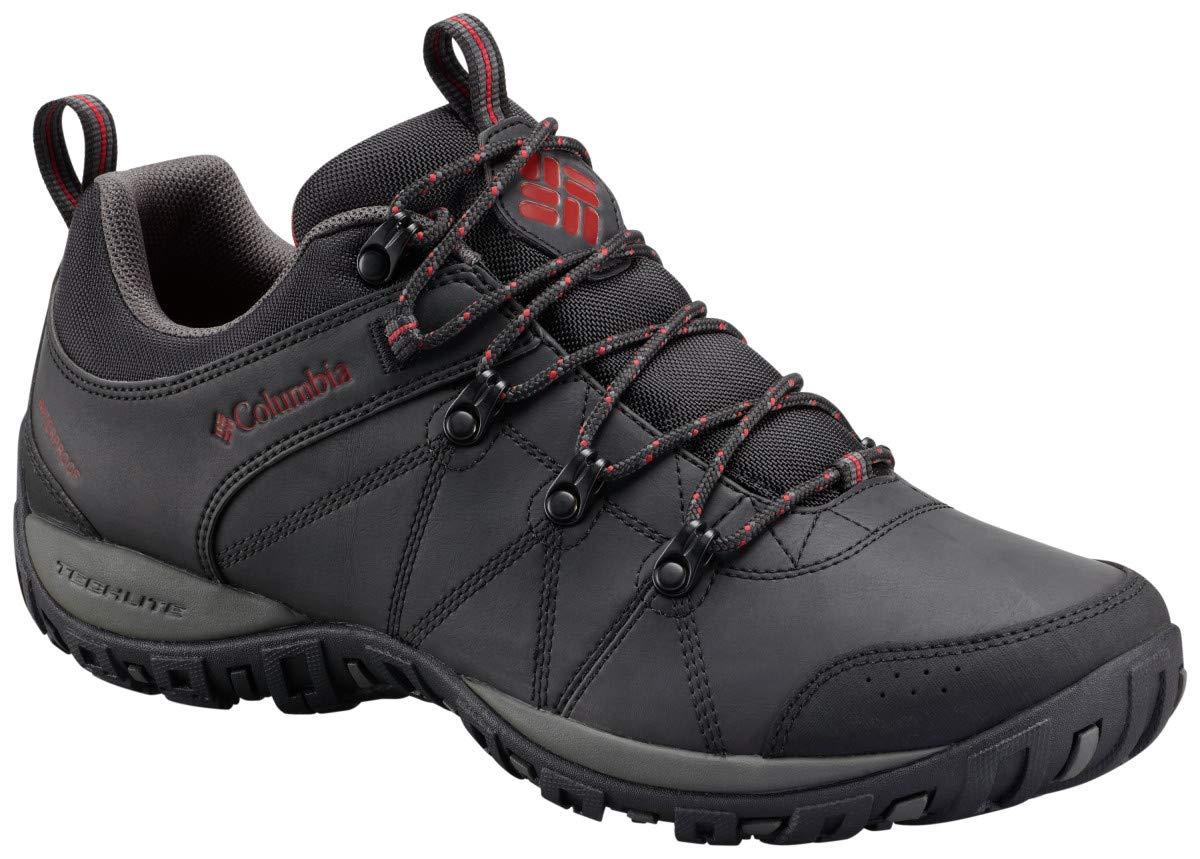 Columbia Men's Peakfreak Venture Waterproof Hiking Shoe, Black, Gypsy, 10 D US by Columbia