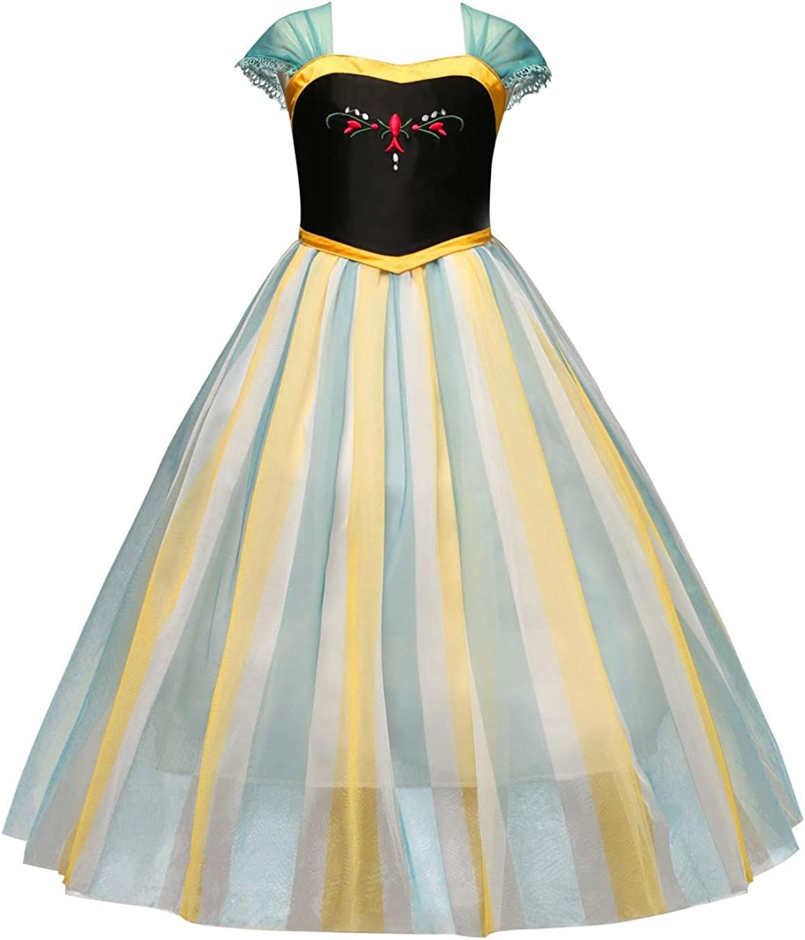 Daily Proposal DP3 Elsa Story Girl Kids Dress Halloween Costume 4-10 USA