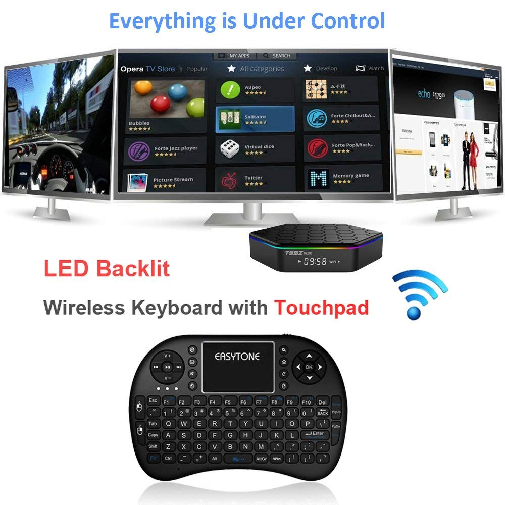 EASYTONE T95Z Plus Android TV Box 3GB 32GB,Android 7.1 TV