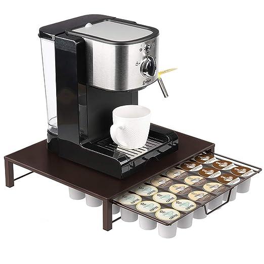 Soporte para cápsulas de café, cajón, K-Cup, mesa de café ...