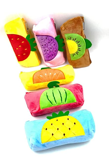 Return Gift For Kids Buy Fruits Theme Super Soft Superb Quality Pencil Pouch