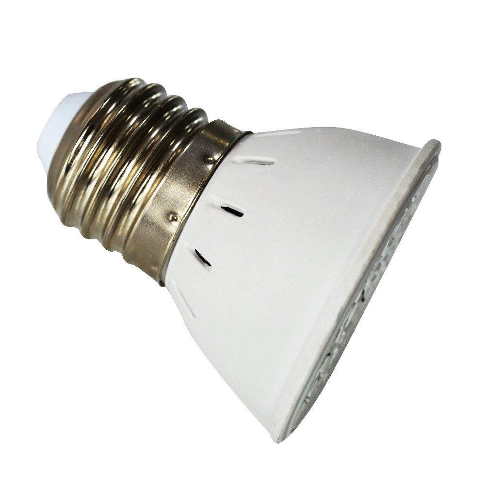 LEDMOMO E27 6W Bombilla para Crecimiento de Planta de 72 LEDs Luz de Cultivo para Hidroponia de Jardí n