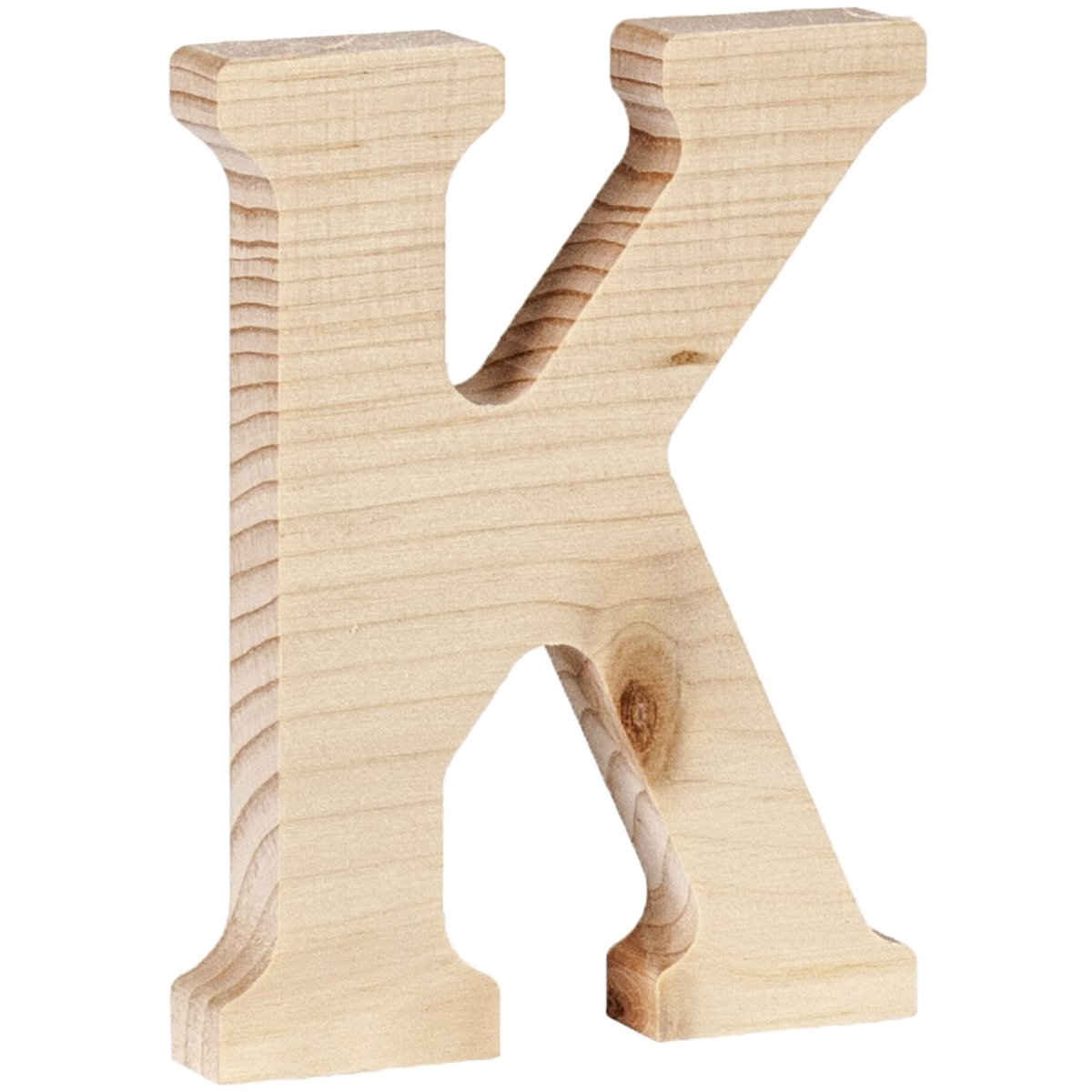 Walnut Hollow 262WH-26242 Wood Letter, 5 x 0.63, K 5 x 0.63