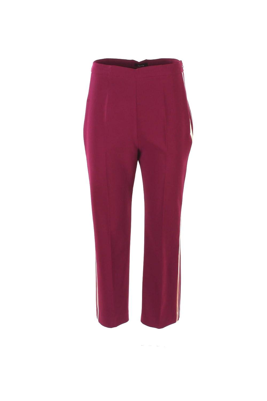 HANITA Pantalone Donna 46 Viola H.p732.2288 Autunno Inverno 2018/19