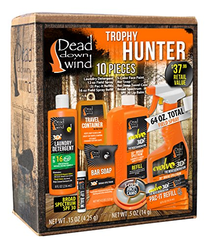 Dead Down Wind Trophy Hunter Kit (10 Piece) ()