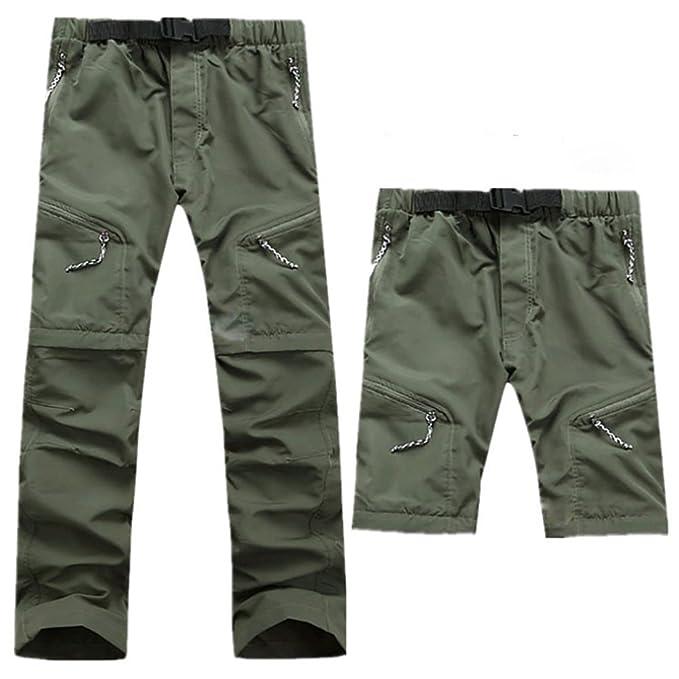 Para Aieoe Multibolsillos Unisex Montaña Softshell Senderismo Trekking Outdoor Cremalleras Con Pantalón De Desmontable Pants Técnico Pantalones 1K3TlJcuF