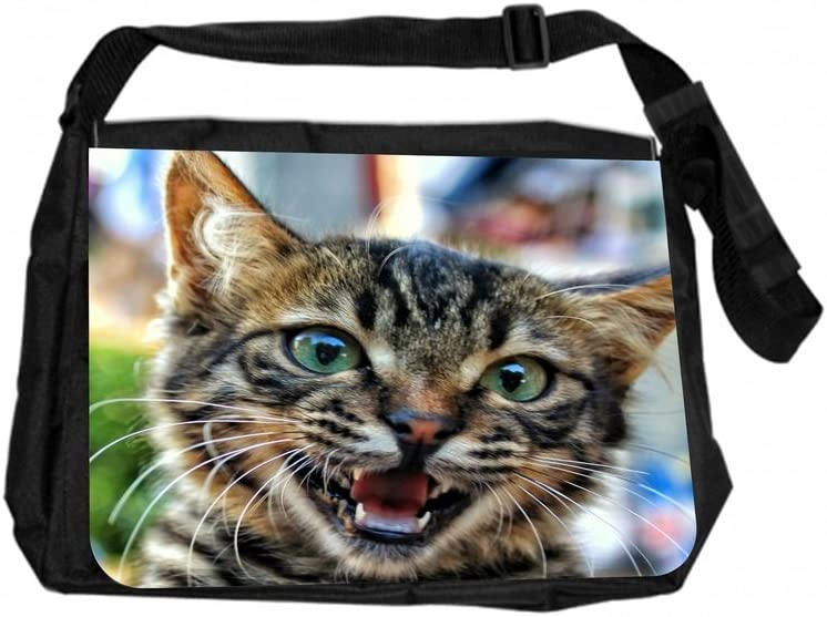 TM Laptop Messenger Bag and Small Case for Wire Accessories Set Happy Kitten Rosie Parker Inc