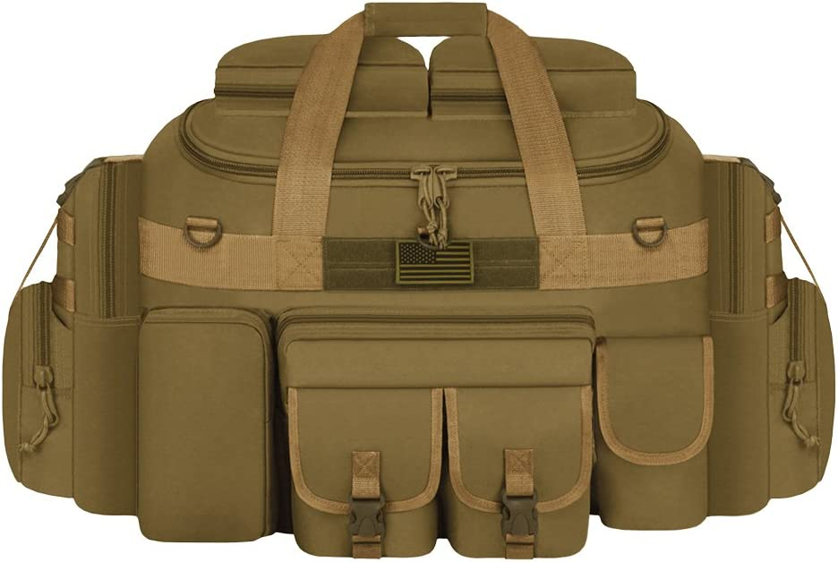 East West U.S.A Tactical Outdoor Multi Pockets Heavy Duty 35 Duffel Bag