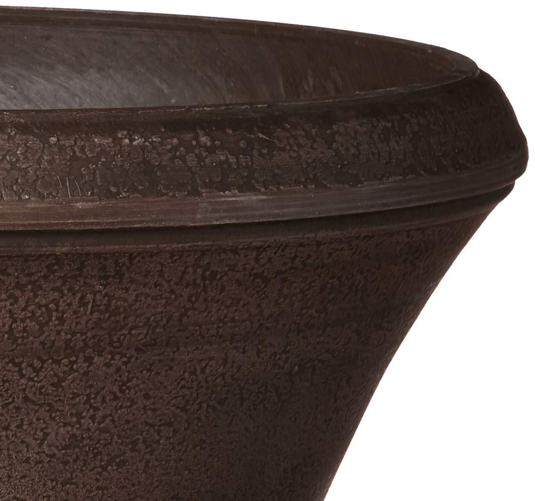 Arcadia Garden Products PSW DB51C Hamilton Urn, 18 by 22'', Chocolate by Arcadia Garden Products (Image #4)