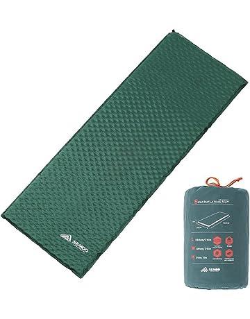 Semoo Esterilla/colchoneta auto-hinchable impermeable para camping, 188 x 60 x 3