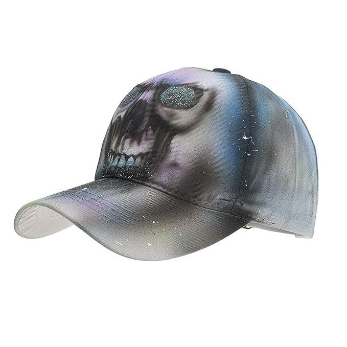 Gooldu Baseball Hat, Men Women Adjustable Animal Printed Cap Bone Gorras Tactical Baseball Shade Hat (Gray) at Amazon Mens Clothing store: