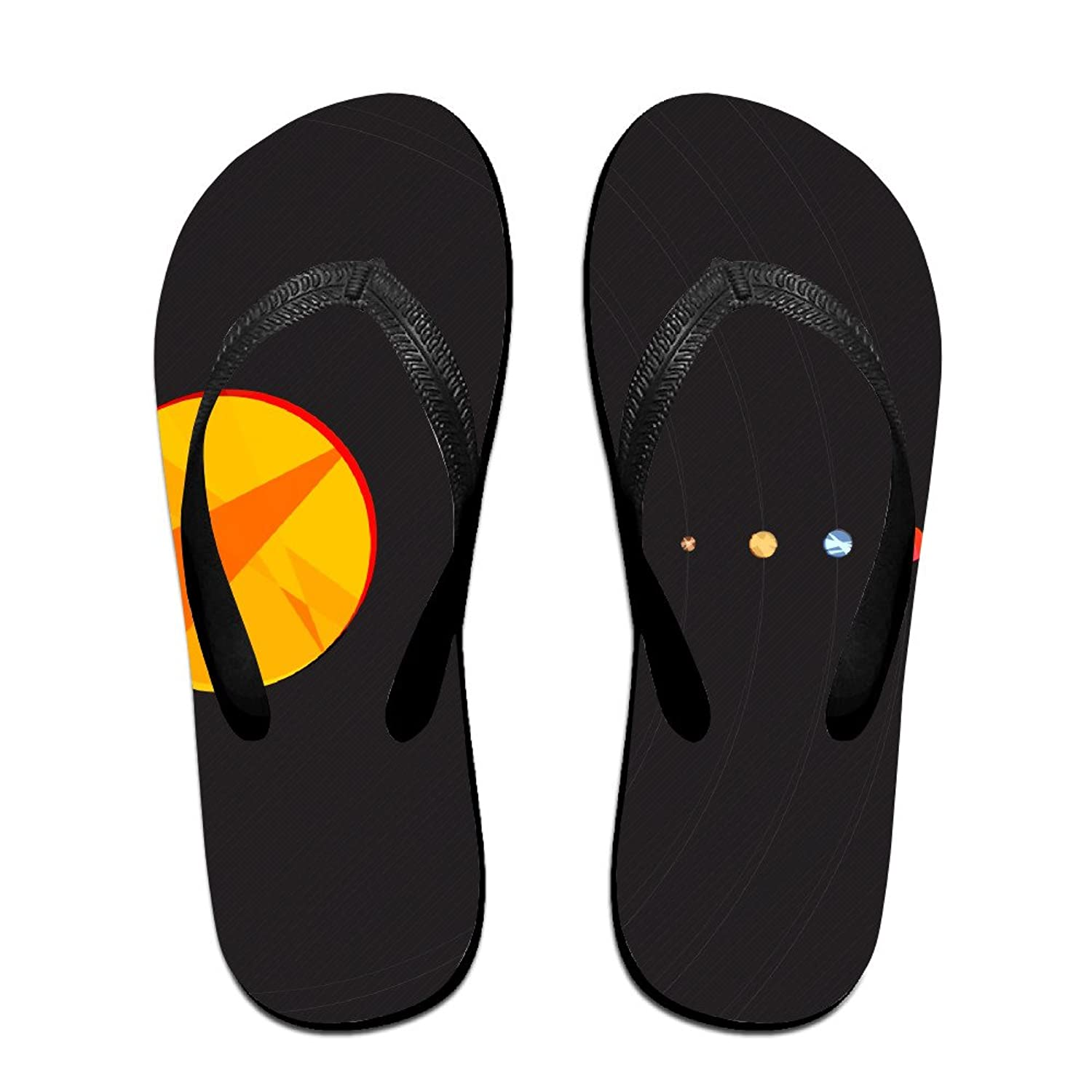 c021069c9 high-quality Solar System Planets Simple Unisex Flip Flops Sandal Summer  Beach Slippers For Women