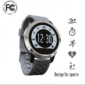 Smart Pulsera Touch Screen Bluetooth resistente al agua Fitness Tracker Actividad tracker Natación reloj pulsómetro de pulsera, 0.16, color color-214: ...