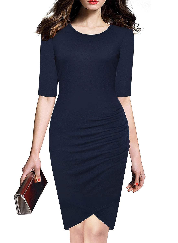 bluee LEIYEE Women's Floral Print Sundress Strap Casual Button Sunflower Midi Dress Pockets