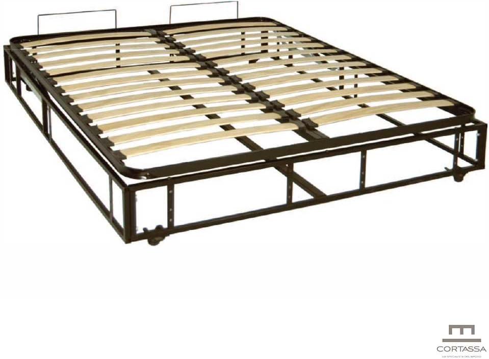 Cama con canapé completo con estructura, base y mecanismo_Universal_Mod. Tambora 160 x 190