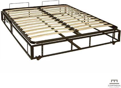 Cama con canapé completo con estructura, base y ...