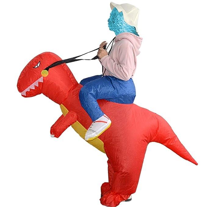 Ruiyiheng Caliente Adulto Niños Hinchable Dinosaurio Disfraz ...