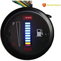 mortch 50mm combustible Medidor LED Digital Instrumentos DC12V