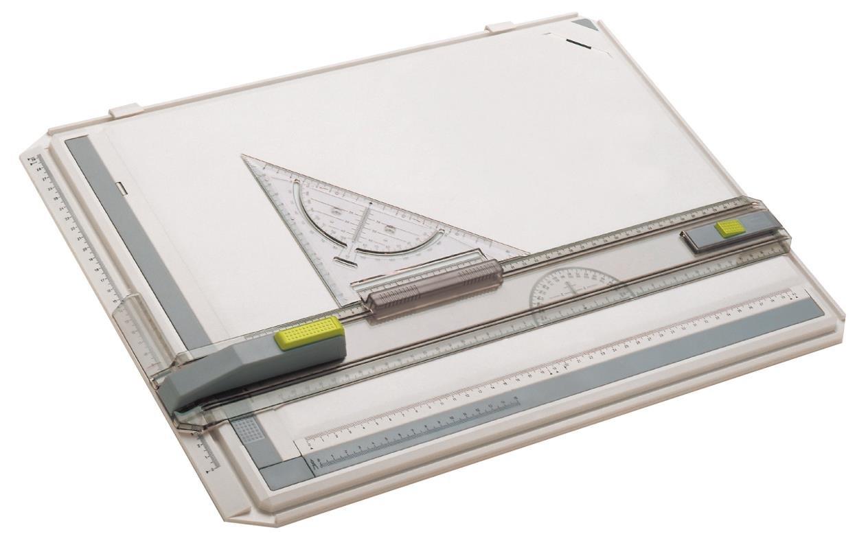 Tavolo da disegno in plastica colore: Bianco Aristo formato A3