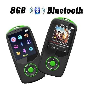 CFZC - Reproductor MP3 con Bluetooth 4.0, Reproductor de MP3 ...