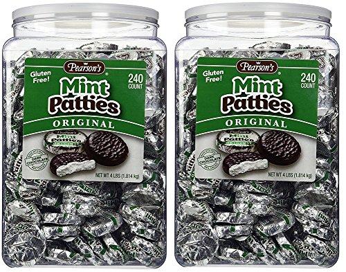(Pearson's-Mint Patties, 240 Mint Patties-2 Pack)