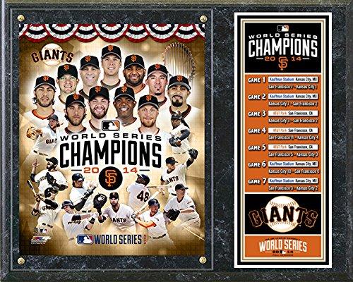 San Francisco Giants 2014 World Series Champions Composite Plaque 15