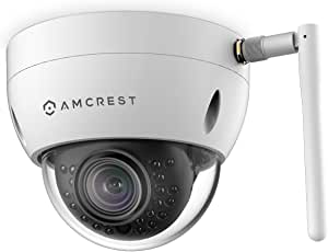Amcrest ProHD Fixed Outdoor 3-Megapixel (2304 x 1296P) Wi-Fi Vandal Dome IP Security Camera - IP3M-956W