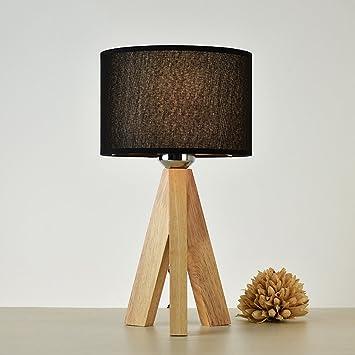 HYLR Moderno Estilo japonés Moderno Lámparas Woody lámpara ...