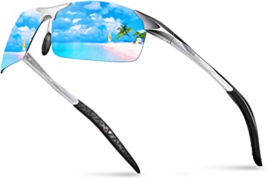 BOYOU gafas de sol polarizadas de los hombres gafas de sol de ...