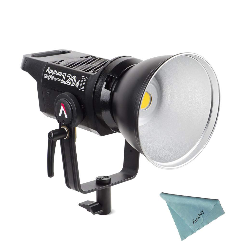 Aputure Light Storm LS C120d II COB 120D Mark 2 + Fresnel mount 180W 5500K LED Continuous Video Light CRI96+ TLCI97+ Bowens Mount,the Ultimate Upgrade,Support DMX,5 Pre-programmed Lighting Effects by Aputure (Image #3)